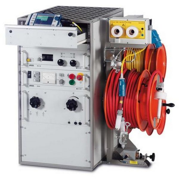 Syscompact 2000 cable fault location system