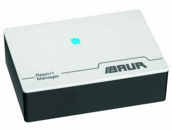 Report Manager External USB interface for BAUR oil testers